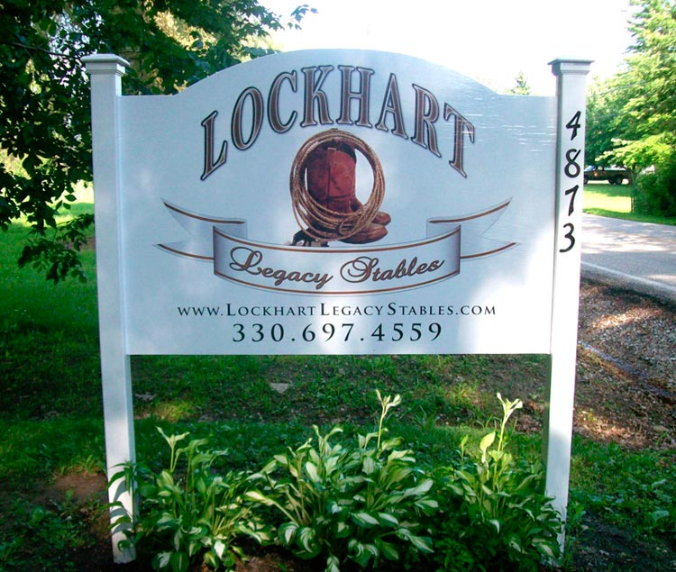 Lockhart Legacy sign